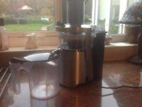 Juice Extractor 1000 Watt Stainless Steel Stellar SEA34