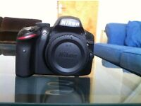 Nikon D3200 For Sale - **Pristine** Body Only, Battery, Charger, Hoya Filters X2, Vario ND filter X1