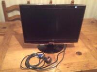 Samsung Sync master screen monitor T190, hardly used