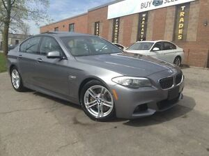 2011 BMW 5 Series 535i xDrive| M PKG| HEADSUP DISPLAY| LANE ASSI