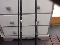 Nash fishing rods