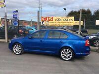 Skoda Octavia VRS diesel 2007 102000 fsh ful year mot fullyserviced mint car must see