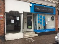 Lovely office or small shop to rent in Littlehampton centre.