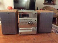Sony Hifi component system used but in good working order