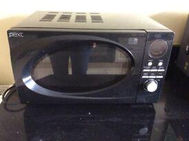Black next microwave