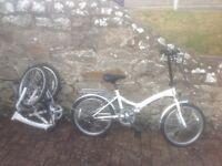 Folding bikes as good as new