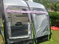 Bailey Orion 2011 430-4 excellent condition comes with mover and kampa awning