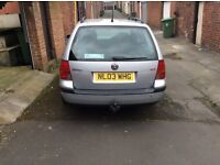 2003 VW Golf Estate 1.9 SDI E - ONLY 2 OWNERS FROM NEW