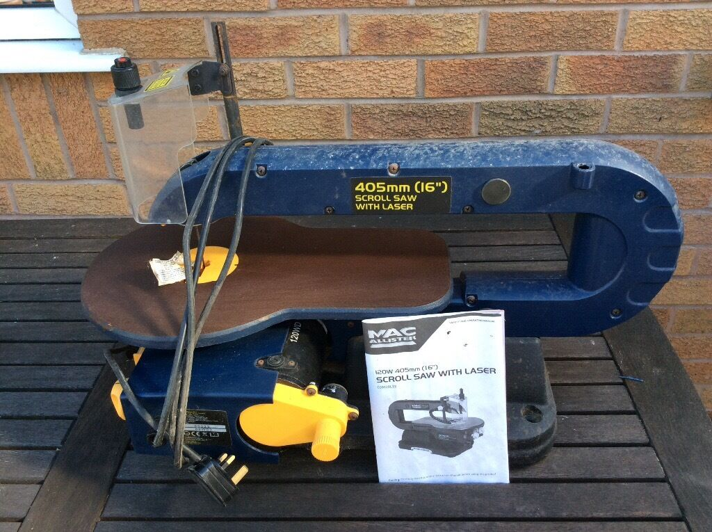 Macallister 16 Inch Scroll Saw In Mold Flintshire Gumtree