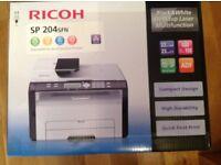 Ricoh SP204 SPN Multifunction Printer. BNIB. £30