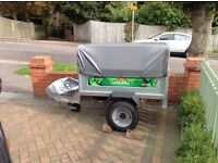 Camping trailer daxara 127, high top bars giving extra space,two covers, high and low, as new.