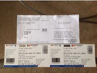 2 x Bob Dylan concert tickets, Motorpoint Arena Nottingham