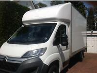 Luton Van with Tail-Lift for Removals, Office Moves, Man & Van, Piano Moves, Student Moves, Sofas