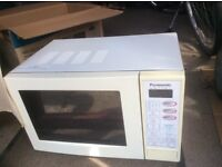 Panasonic microwave good condition £15.00