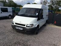 Ford transit swb direct of local authority 73000 miles from new