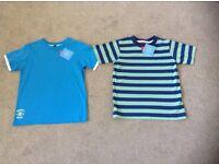 Boy's 2 New T Shirts