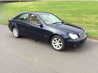 2006 MERCEDES C180 KOMPRESSOR # ONLY .2. OWNERS FROM NEW # GENUINE 65000 MILES # MOT TO AUGUST 17