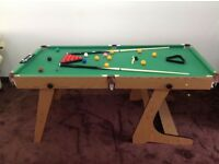 Free Folding pool table to collect
