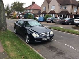 1.8l Mercedes C200 Kompressor for sale. £1500 ovno