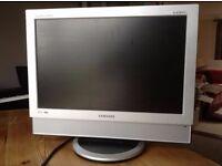 Samsung flat screen 19in TV