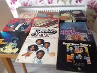 Selection of Vinyl Records