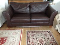 Marks and Spencer Abbey large leather sofabed