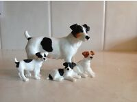 Border fine arts, a Jack Russell family group.