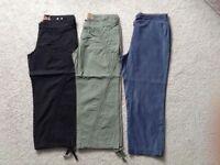 3/4 length trouser bundle