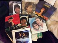 A collection of Cliff Richard records