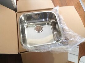 Square stainless steel sink NEW