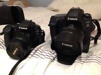 Canon 80D w/ 3 Lenses. Exellent Condition w/ Still 11 months warranty @ John Lewis