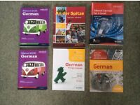 Selection of German School Books, all in new condition