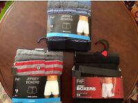 Mens Boxers Shorts Underwear Gift Set 3 Pack XXL