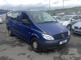 Mercedes-Benz Vito 2.1 111CDI Long Bus 5dr 8 SEATER+FULL SERVICE HISTORY+2 OWNER FROM NEW!