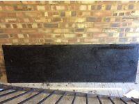 Black Granite Worktop - Good Condition - Ideal for New Kitchen Build