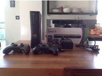 X-Box 360 Console plus Kinect