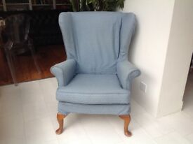 Lovely Parker Knoll Wingback Armchair