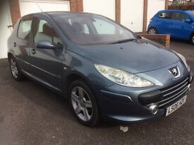 Peugeot 307 1.6 HDI Sport Full Leather+CLIMATE,Cambelt changed,Low Tax