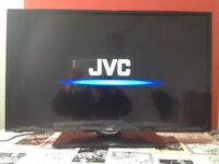 JVC 32 Inch HD slim LED TV with Built in DVD player, Freeview, USB, great condition