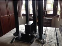Samsung Home Cinema System has 6 speakers excellent condition.collection from Grays