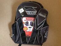 Slazenger backpack - grey/black brand new