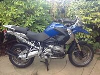 BMW R 1200 GS 2008 Blue