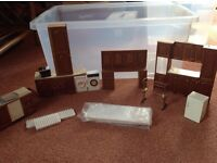 Dolls' house kitchen collection. All 1/12 size.