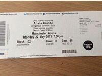 Ariana Grande - SoundCheck With Ariana Tickets Manchester