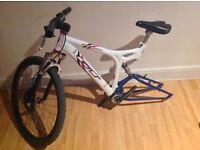Gt xcr1000 double suspension moutain bike