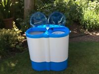 Leisurewise Portable twin tub washing machine