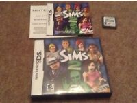 Nintendo DS Sims 2 game