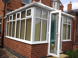 Conservatory - approx 3.1m x 3.3m - excellent condition