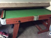 Pool/Snooker Table - mid size