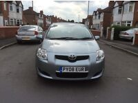 2008 Toyota AURIS 1.4 TR 5dr hatchback petrol manual 1 owner low mileage full history £2495
